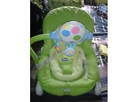 chicco balloons baby rocker chair
