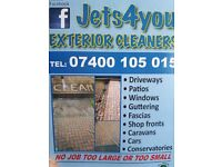 Pressure washing / jet washing / window cleaning / mobile hand car wash