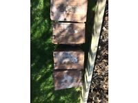 Vintage Approx 46 Red/Brown Roof Tiles 10.5 x 6.5 inches