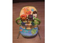Rainforest bouncy chair