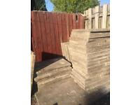 Concrete flag stones 3ft x 2ft