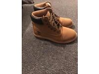 Womans timberland boots size 5