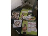 Twist & Shape Exerciser Machine with workout DVD, user manual, exercise chart and 14 day diet chart.