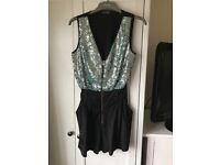 Sequinned Playsuit from miss selfridge
