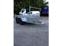 8x4 trailer galvanised twin axle (not cattle loader sheep loader silage nugent ifor willliams mcm)
