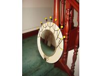 1950's vintage convex mirror.