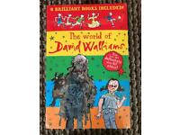 NEW DAVID WALLIAMS BOXSET X 4 books