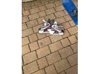 Bauer speed skates size 4.5