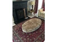 Beautiful DFS Large Footstool