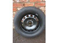 VW Skoda Yeti spare tyre wheel brand new 205/55/R16