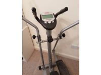 Cross trainer and exercise bike - 2in1!