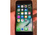 Iphone 6 16 gb grey UNLOCKED excellent condition Fully working