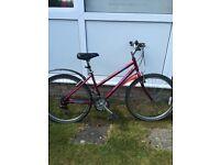 Ladies Raleigh bicycle 21 Gears / Road / Mountain bike