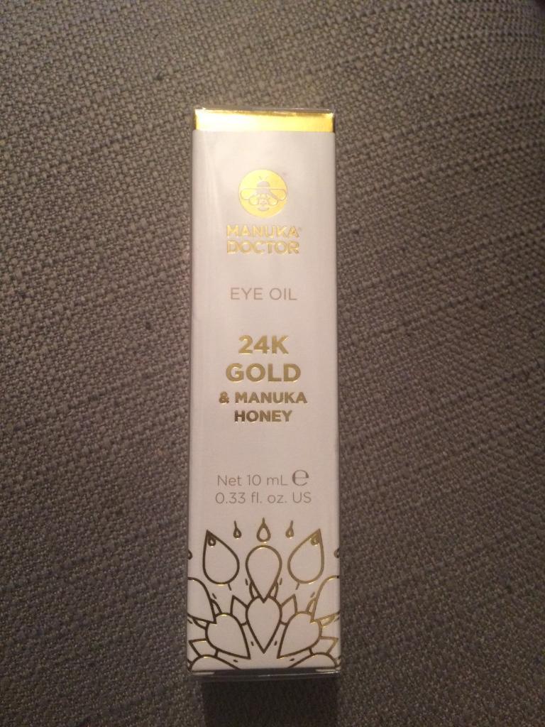 Manuka Doctor Eye Oil - 24K Gold