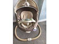 Graco Sweetpeace baby swing/ glider