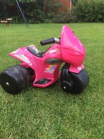 Trike battery powered
