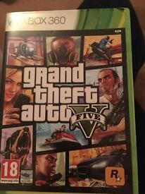 Grand theft auto 5 Xbox 360 game