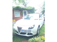 2010 Alfa Romeo Giulietta with full service history and low milage.