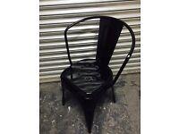 Metal Industrial Heavy Black Office Chair
