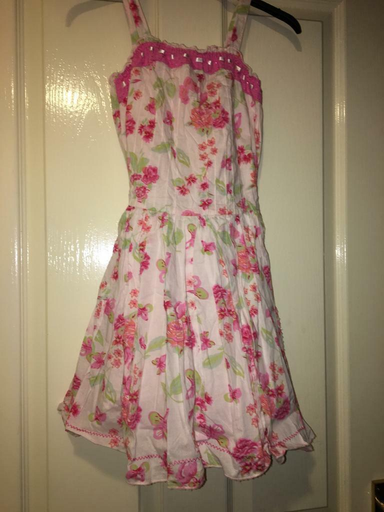 2 children's lined dresses