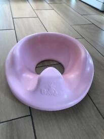 Bumbo toilet training seat