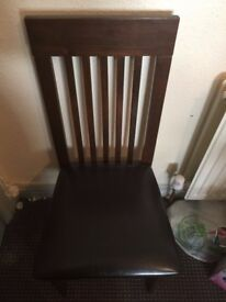 3 Oxford dining chairs