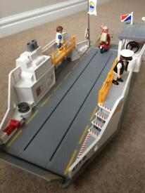Playmobil Ferry and dock/pier