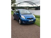 Toyota yaris facelift 1.3 vvt-I tr 5dr (6 months gold warranty)(one lady owner)(tax band c £30)