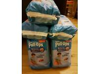 Huggies pull-ups - 7 day-time packs + 2 night-time packs