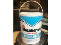 Macpherson mid sheen dulux grey steel 4 wall and ceiling paint
