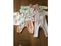 M&S baby girls age 3-6