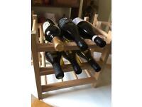 Ikea wine rack