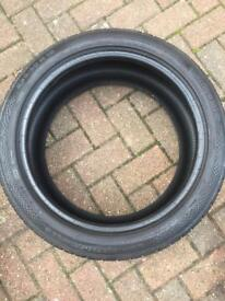 1 x TYRE USED CONTINENTAL 235/40/18 6.5mm
