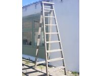 vintage wooden step ladder for sale