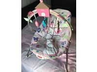 Fisher Price Baby Bouncer - Pink