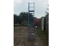 Warehouse Steps Ladder 3m to the top landing step