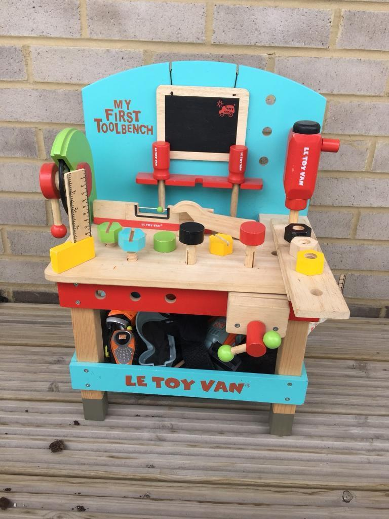 Amazing Le Toy Van Wooden Tool Bench In London Gumtree Gamerscity Chair Design For Home Gamerscityorg