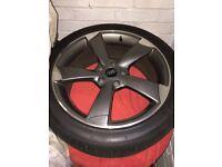 Audi 18inch alloy wheels