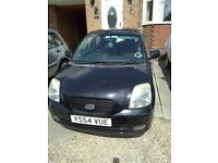 2004 Kia Picanto £30 tax a year