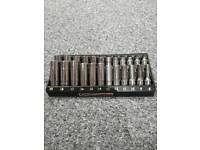 Snap on 3/8 socket set