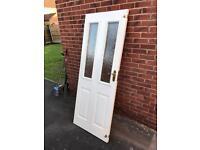 External Door - Brown Outside / White Inside