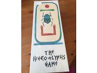 The Hieroglyphs game