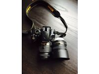 Nikon D3200 with 18-55mm VR II Lens Kit + Nikon AF-S DX NIKKOR 50mm f/1.8G Lens