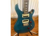 *AS NEW* 2017 PRS Custom 24 Guitar w/ Bird Inlays - Limited Edition - Blue Matteo