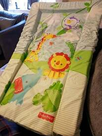 Baby changing mat