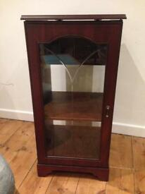 Free glass fronted cabinet
