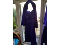 2 brand new bridesmaids dreses shawls imcluded