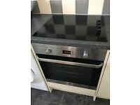 Electric oven and hob