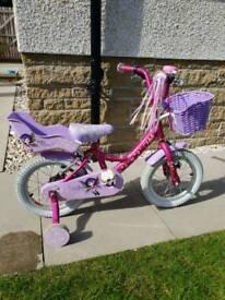 Raleigh Molli 14 inch girls bike