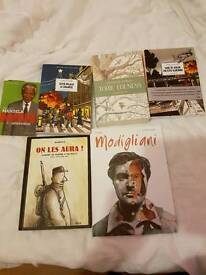 Brand new French books RRP £100